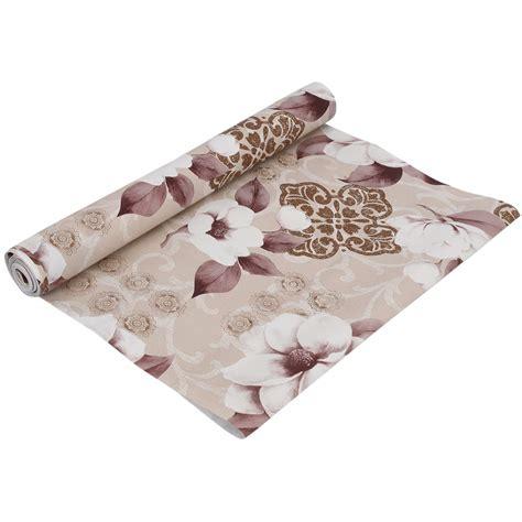 kuber industries flower design pvc wardrobe kitchen drawer