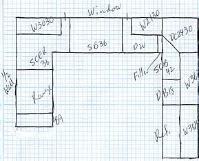 Small U Shaped Kitchen Layout Afreakatheart