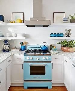 Bring, A, Pop, Of, Color, Into, Your, Kitchen, Wow, Retro, Fridge, Kitchen, Kitchenideas