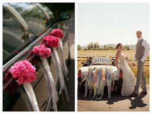 Decoration Voiture Mariage : deco voiture mariage a faire soi meme id es et d 39 inspiration sur le mariage ~ Preciouscoupons.com Idées de Décoration