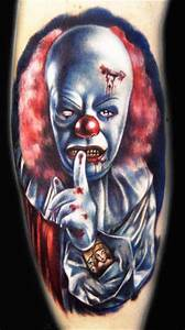 Clown Tattoos Designs, Ideas and Meaning | Tattoos For You