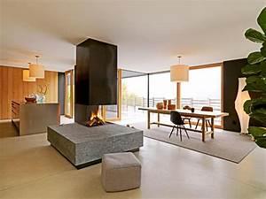 architektenhauser offener wohn und essbereich bild 2 With markise balkon mit moderne tapeten für wohnzimmer