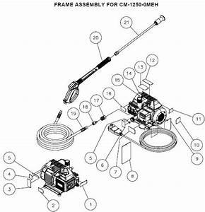 Washer Parts  Chore Master Pressure Washer Parts