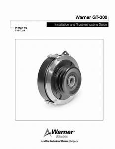 Gt 300 Clutch  Brakes