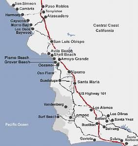 Maps Of California Coast