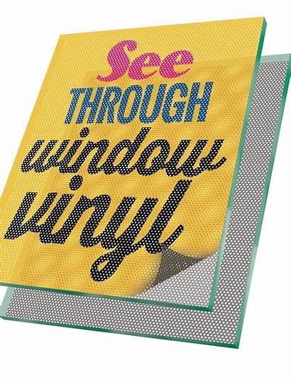 Perf Vinyl Thru Window Storefront Windows Way