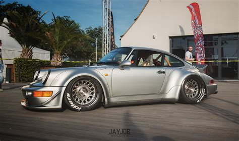 stanced porsche 964 the world 39 s best photos of 964 and rwb flickr hive mind