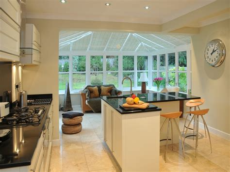 vinyl garden window kitchen conservatory extension