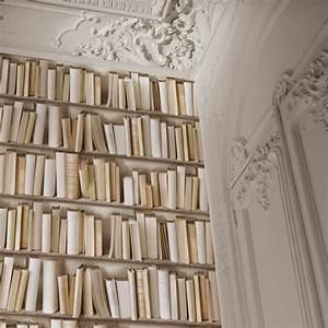 Papier peint trompe l39oeil bibliotheque habillage murs for Peindre un escalier en pierre 17 decoration murale trompe loeil sur papier peint ou toile