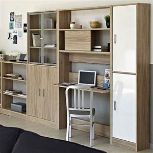 Schrankwand Mit Integriertem Schreibtisch : wohnwand mit integriertem schreibtisch luxus charmant ~ Watch28wear.com Haus und Dekorationen