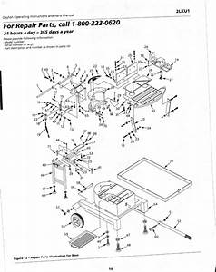 Dayton Band Saw Parts Manual
