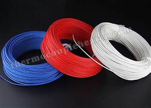 Electric Heater High Temperature Cable   Silicon Rubber Insulated Heating Wire