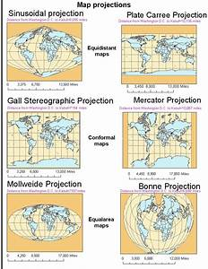 Expedition Earth  Different Map Projections Of The World