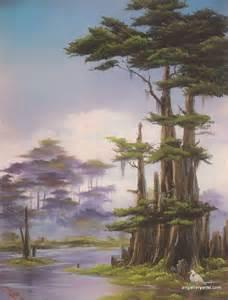 Bob Ross Swamp Paintings