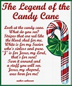 Candy Cane Legend Card Printable | Candy cane legend ...