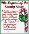 Candy Cane Legend Card Printable   Candy cane coloring ...