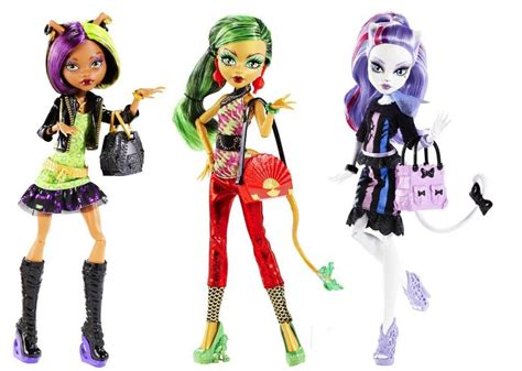 Genuine Original Monster High Dolls New Scaremester