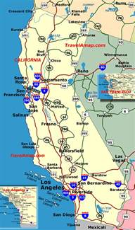 California County Map with Highways