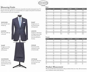 Mens Suit Jacket Size Chart