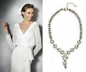 necklace for v neck dress lovely inspiration ideas With jewelry for v neck wedding dress