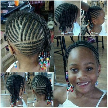 Tresse africaine pour fillette