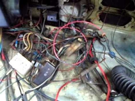 Beetle Wiring Problems Youtube