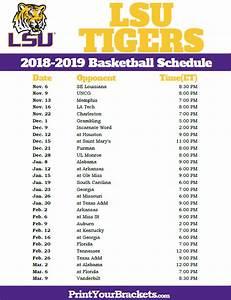 Lsu Tigers Football Schedule 2019 | Footballupdate.co