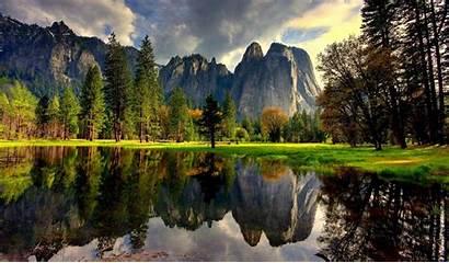 Nature Yosemite National Park California Usa United