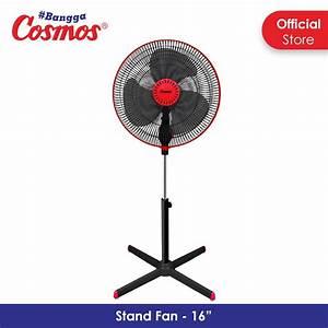Kipas Angin Cosmos 16 Inch 16swa Bisa Stand Fan Dan Wall