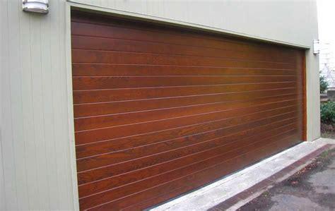 wood garage doors contemporary wooden garage doors ayanahouse