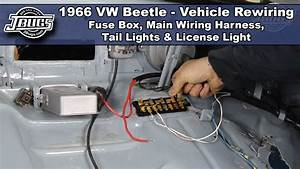 Jbugs - 1966 Vw Beetle - Vehicle Rewiring - Main Wiring Harness