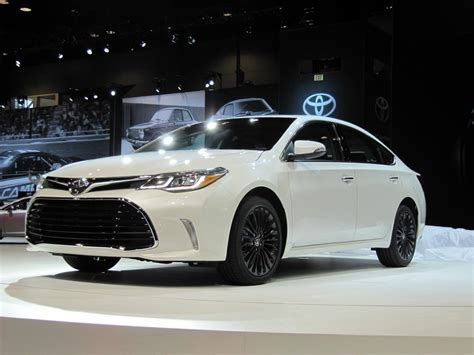 2018 Toyota Avalon Updated At 2018 Chicago Auto Show