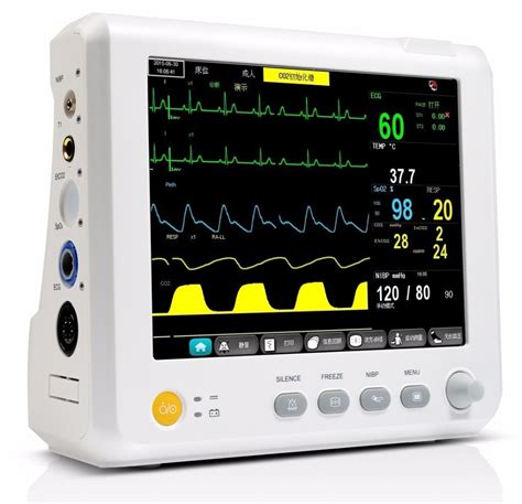 8 inch Parameter TEMP, Pulse Rate, Respiration, ECG, SPO2