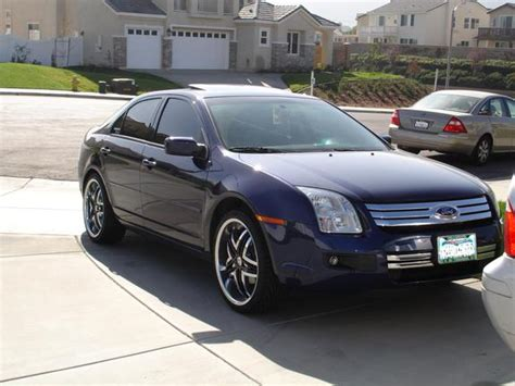 2006 Ford Fusion Mpg by 2006 Ford Fusion Modifications