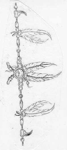 Native American arm band with feathers tattoo | Tattoos | Pinterest | Tattoos, Feather tattoos
