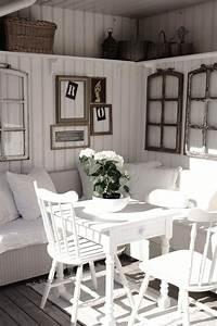 Schne Vintage Wanddeko Mit Leeren Fenster Und
