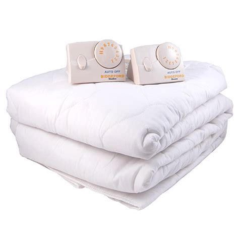 king mattress pad biddeford cal king quilted electric heated mattress pad ebay