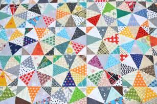 Kaleidoscope Scrap Quilt