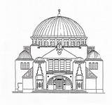 Coloring Pages Synagogue Building Jewish Sheets Colour Wikimedia Commons Template Adults Printable Sketch Adult sketch template