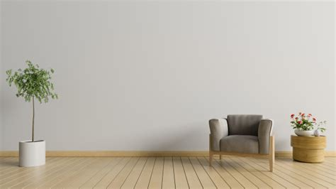 Living Room Background Images by Living Room With Armchair And Tree On White Wall