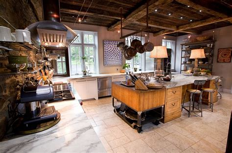 Industrial Home Style : Awesome Industrial Kitchen Ideas