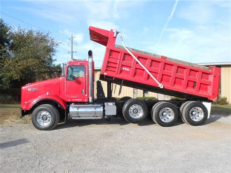 used kenworth dump truck for sale 6055