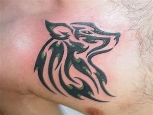 Tribal Wolf Tattoo : 18 awesome tribal wolf tattoo ~ Frokenaadalensverden.com Haus und Dekorationen