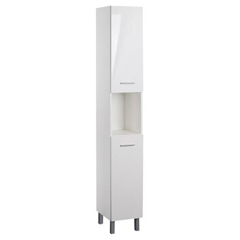 Gloss White Bathroom Cabinets by Facto Bathroom Cabinet High Gloss White Cg750hw 5 Ace