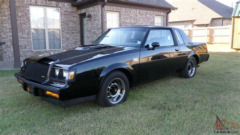 Grand National Car For Sale by 1987 Buick Grand National Gnx For Sale Ebay