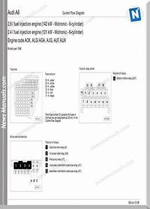 Audi A6 1998 Wiring Diagram