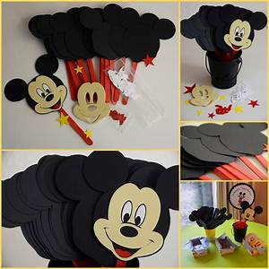 Mickey Mouse Crafts For Kids myideasbedroom com