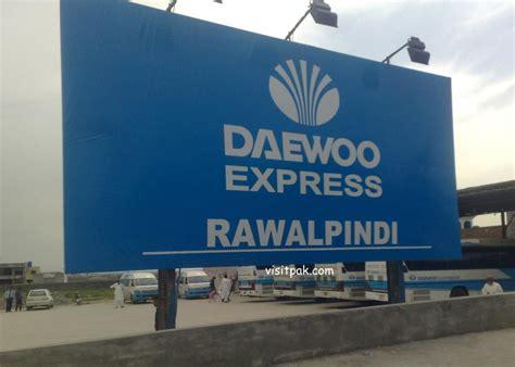 New Daewoo Express Bus Service Rawalpindi Terminal With