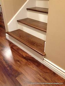Stair Ideas - From Carpet to Wood :: Ann @ Duct Tape and
