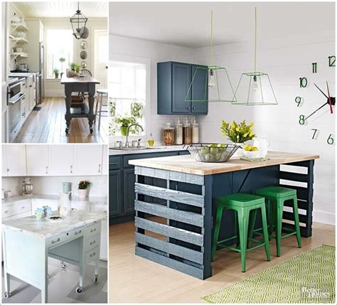 Alternative Kitchen Islands Created From Recycled Stuff